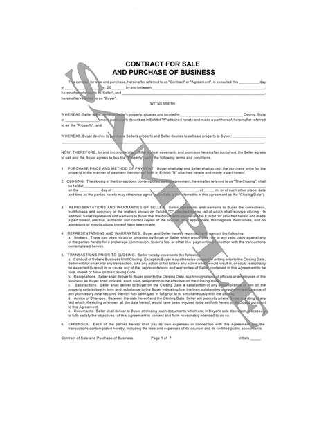 Sle Agreement Letter Between Buyer Seller 11 best images of agreement between buyer and seller