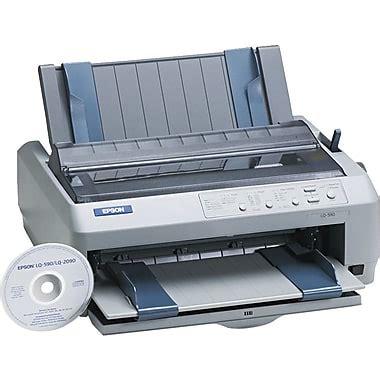 Printer Epson Lq 590 epson 174 lq 590 dot matrix printer staples 174