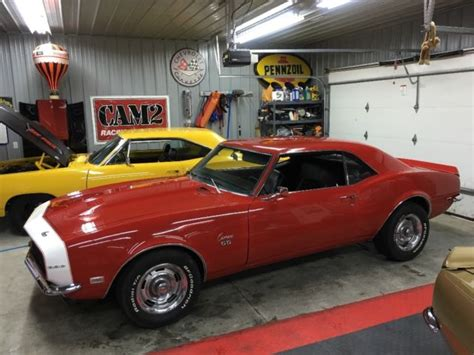 How To Clean Car Interior At Home by 1968 Camaro Ss 396 4sp No Reserve Barn Find Red 1967