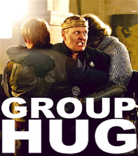 Group Hug Meme - group hug merlin on bbc fan art 18271576 fanpop