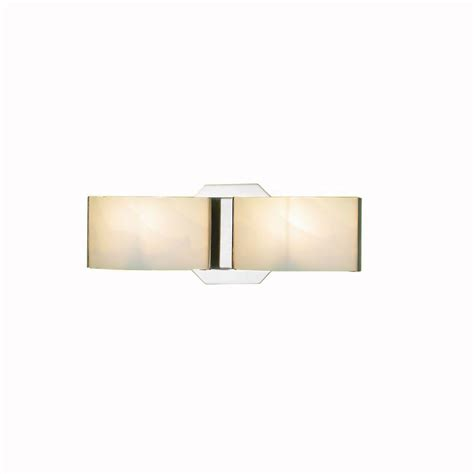 Home Depot Wall Sconces Eurofase Dakota 2 Light Satin Nickel Wall Bath Bar Sconce
