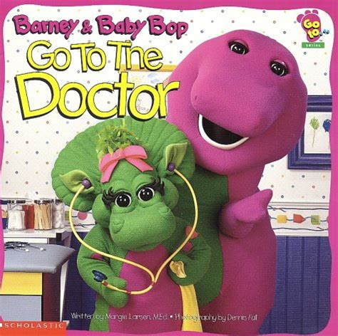 Barney Lets Go To The Doctor Story Book barney goes to the doctor barney and friends books