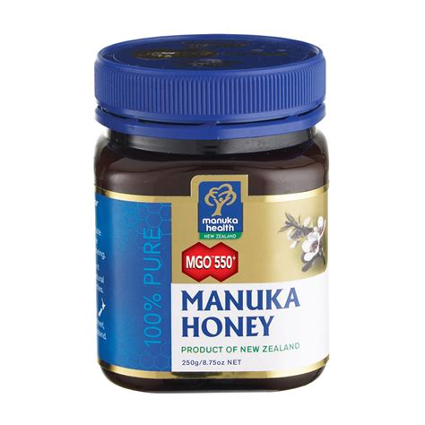 best brand of manuka honey manuka health mgo 550 manuka honey blend 250g feelunique