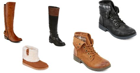 jcpenney 19 99 s boots up to 90 value