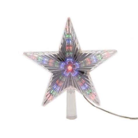 large firework effect christmas tree topper large led tree topper with digital effect multi coloured