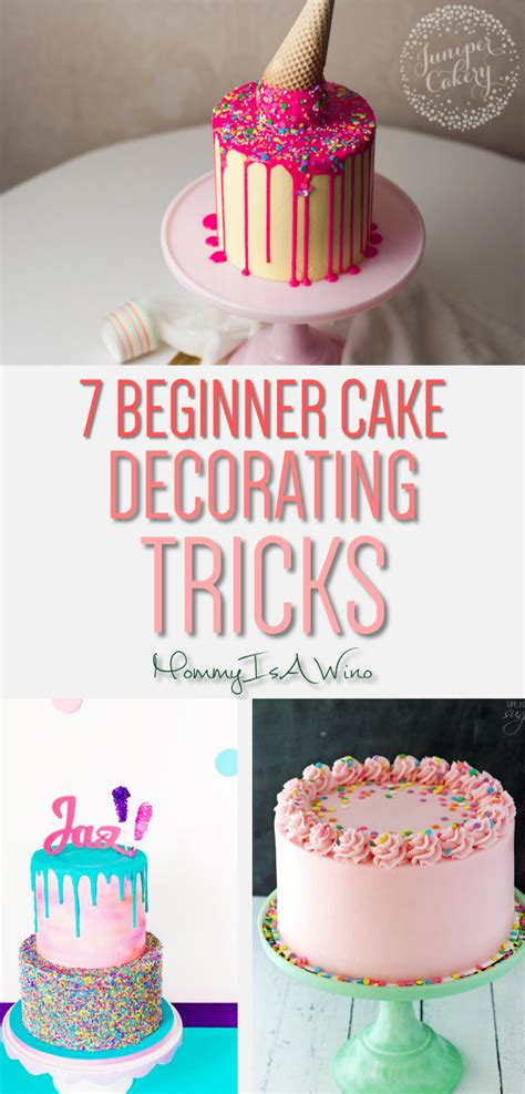 7 Adorable Ways To Decorate A Cake by 7 Easy Cake Decorating Trends For Beginners Is A Wino