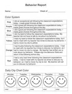 behavior report card template behavior report card template 50 ideas tricks and
