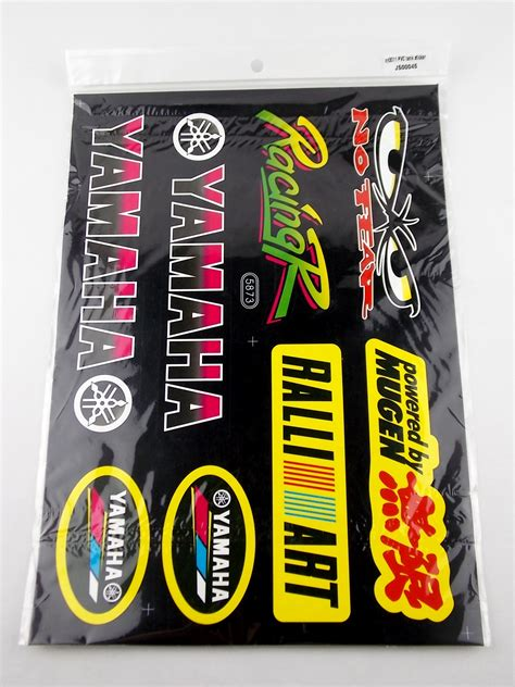 Yamaha Sticker Kits Australia by Yamaha No Fear Mugen Rally Art Motorcycle Sticker Sheet