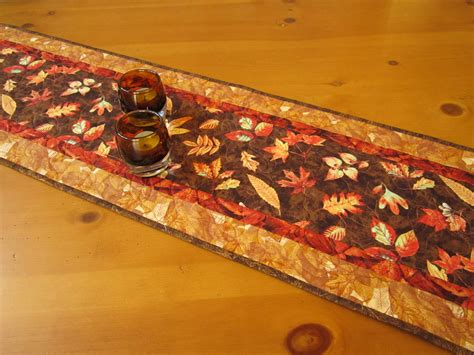 fall table runners to falling leaves fall table runner on luulla