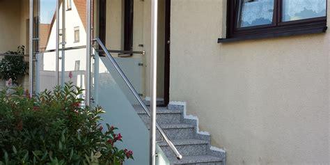 edelstahlgeländer treppe innen aussen gel 228 nder