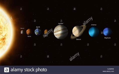 Sun Family Image the big family of solar system planets with a sun in the