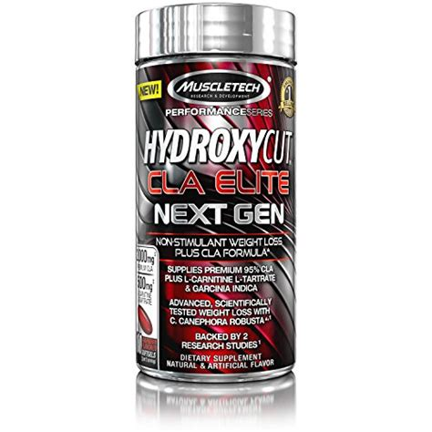 Best Supplement For Fitness Muscletech Hydroxycut Next Non Stimul 1 muscletech hydroxycut elite next non stimulant weight loss plus formula 100 count