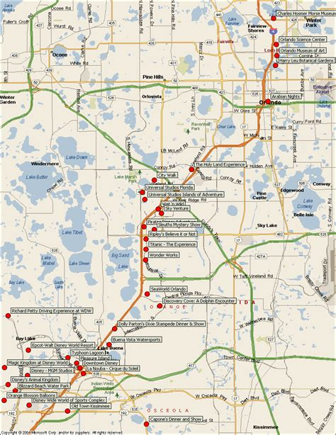 orlando on map of usa map of orlando america maps map pictures