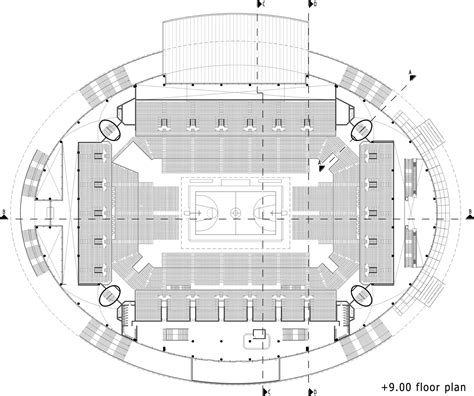 basketball arena floor plan gallery of ankara arena yazgan design architecture 21