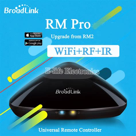 Broadlink Wifi Remote Rm 2 Pro Ready Wifi Ir Fr original broadlink rm2 rm pro universal intelligent remote controller smart home automation