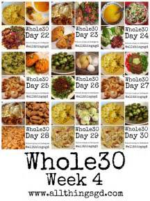 whole30 week 1 all things g d