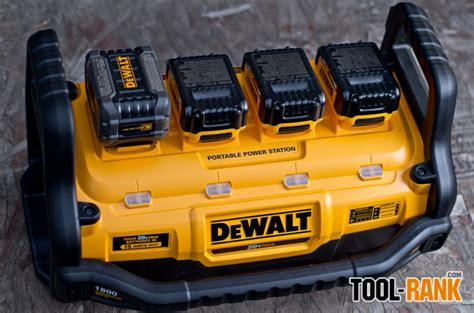 power station charger dewalt dcb1800 portable power station and parallel battery
