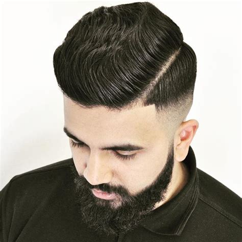 haircuts with edged part mens 7 ways to wear line up hair
