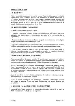 manual tiss eletrobras distribuição rondônia