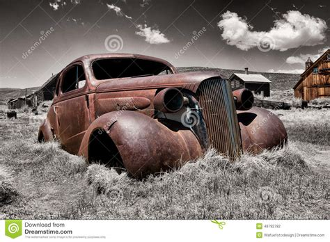 rusty car photography rusty car wreck stock photo image 48792782