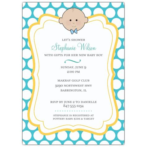 Baby Shower Boy by Cutesy Baby Boy Baby Shower Invitations Paperstyle