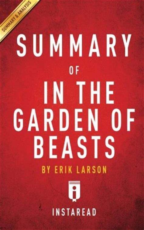 in the garden of beasts by erik larson book awardpedia in the garden of beasts
