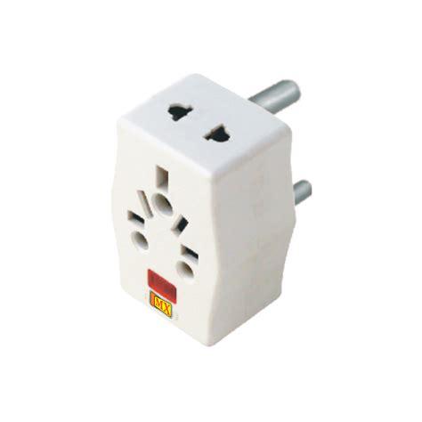 Adaptor Multi mx 3 pin multi adaptor 15 s with light