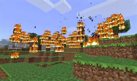 minecraft fire working fire in mcpe mcpe mod tool help requests