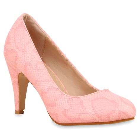 rosa high heels damen pumps in rosa 74739 3369 stiefelparadies de