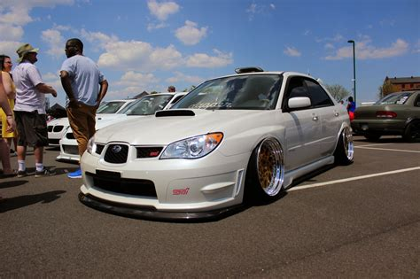 stanced subaru stanced subaru sti looks clean function factory