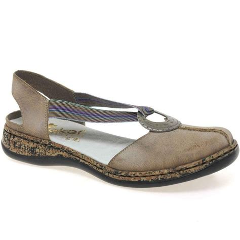 closed toe sandals womens rieker funky womens casual sandals leather charles clinkard