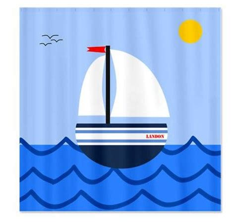 Shower Curtain Kids Sailboat Pictures For Kids Cliparts Co