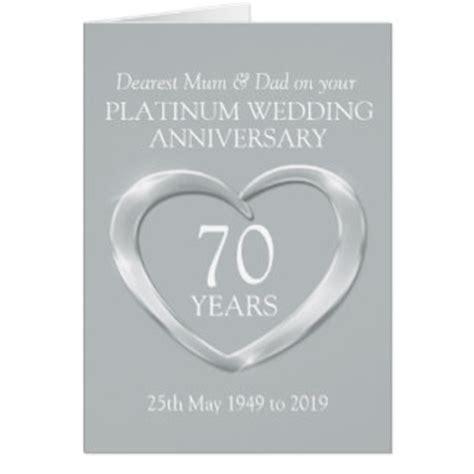 70th Wedding Anniversary Cards   Invitations, Greeting