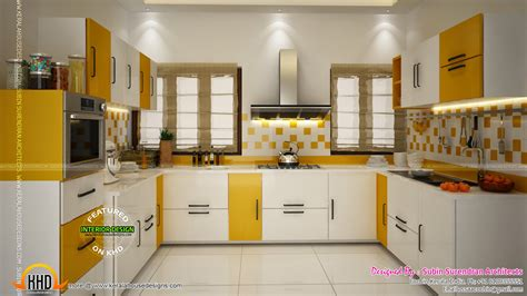 kitchen designs kerala kerala style low cost double storied home keralahousedesigns