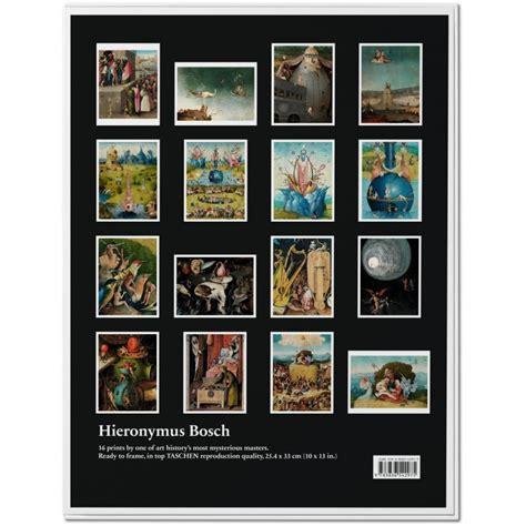 bosch poster set px 3836542978 hieronymus bosch set di ste taschen ltacn libri it