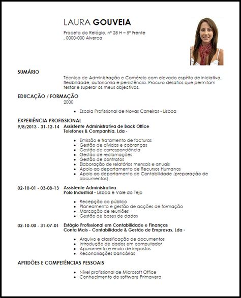 Modelo Curriculum Empleada Administrativa Modelo Curriculum Vitae Assistente Administrativa De Loja Livecareer