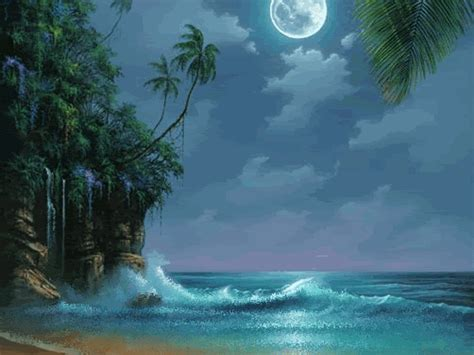 imagenes de paisajes en la playa gifs de naturaleza paisajes de playa