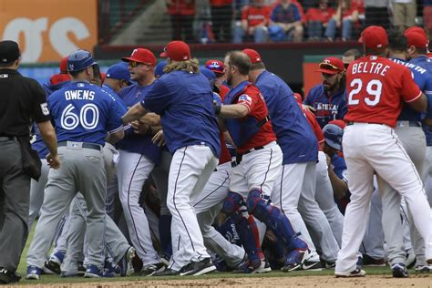bench clearing baseball baseball fights are one of the most ridiculous spectacles