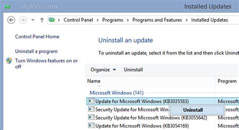 install windows 10 gwx hide get windows 10 icon in taskbar gwx kb3035583