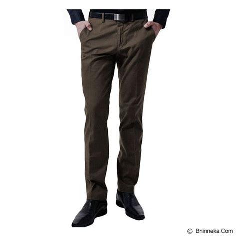 Celana Coklat Cowok jual vm celana panjang size 28 coklat tua murah bhinneka