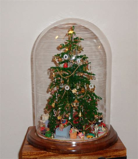 beaded christmas tree nana s dollhouses and miniatures