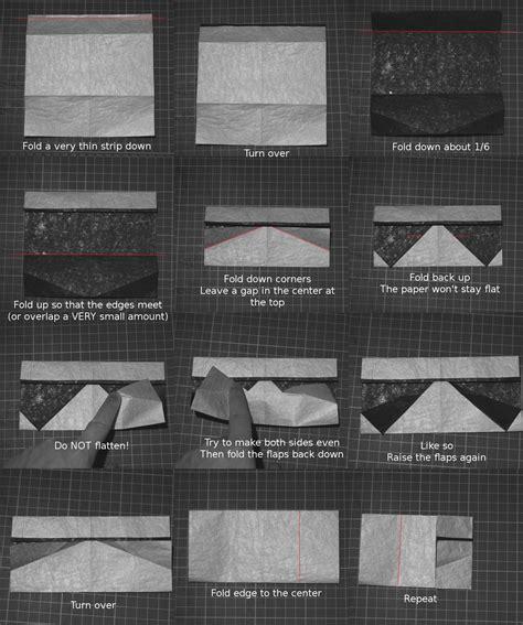How To Make A Paper Stormtrooper Helmet - origami stormtrooper helmet from superfolder