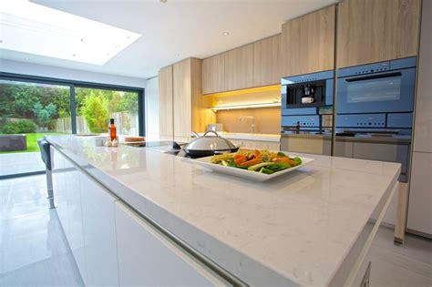 Was Ist Silestone by 40mm Silestone Lagoon Worktop Creates That Marble Feel