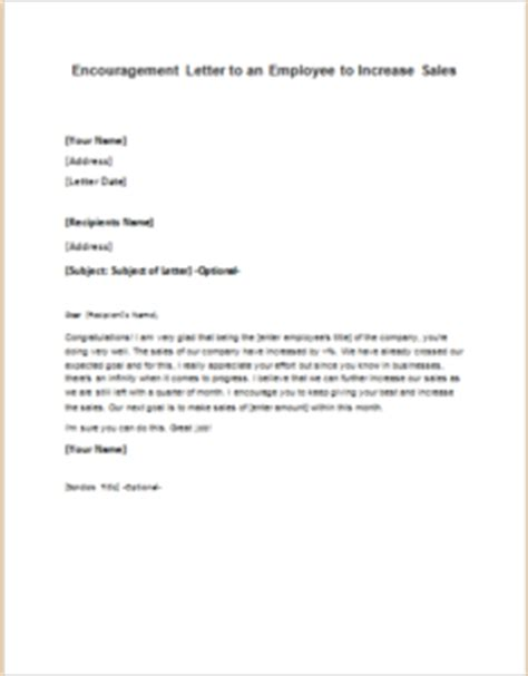 Employee Pay Raise Letter Sles Letter To An Employee To Increase Sales Writeletter2