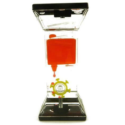 liquid motion desk toy floating color liquid motion timer mix illusion oil clock