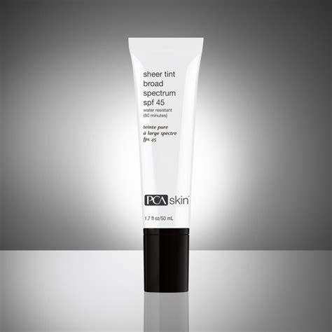 Spf 45 Glow sheer tint broad spectrum spf 45 kur skin lab