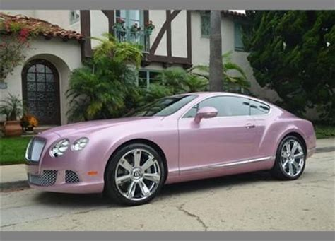 metallic pink bentley 2012 bentley continental gt coupe in pink metallic