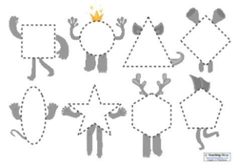 shape pattern investigation ks1 shapes worksheets teaching ideas