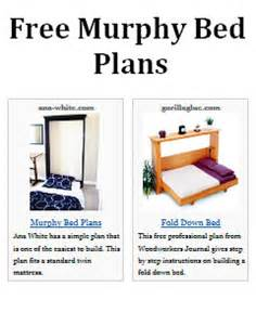 Build Your Own Bunk Beds Free Plans by Murphy Bed Plans
