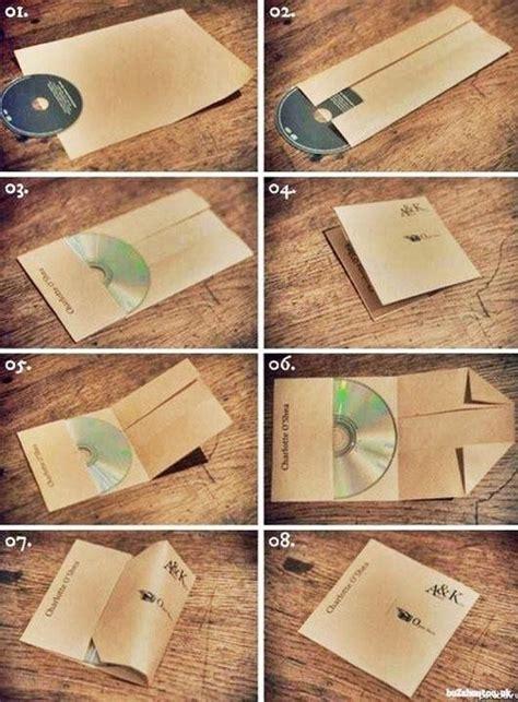 Make Cd Out Of Paper - a4の紙で簡単にcdケースを作る方法が話題に 面白ニュース 秒刊sunday